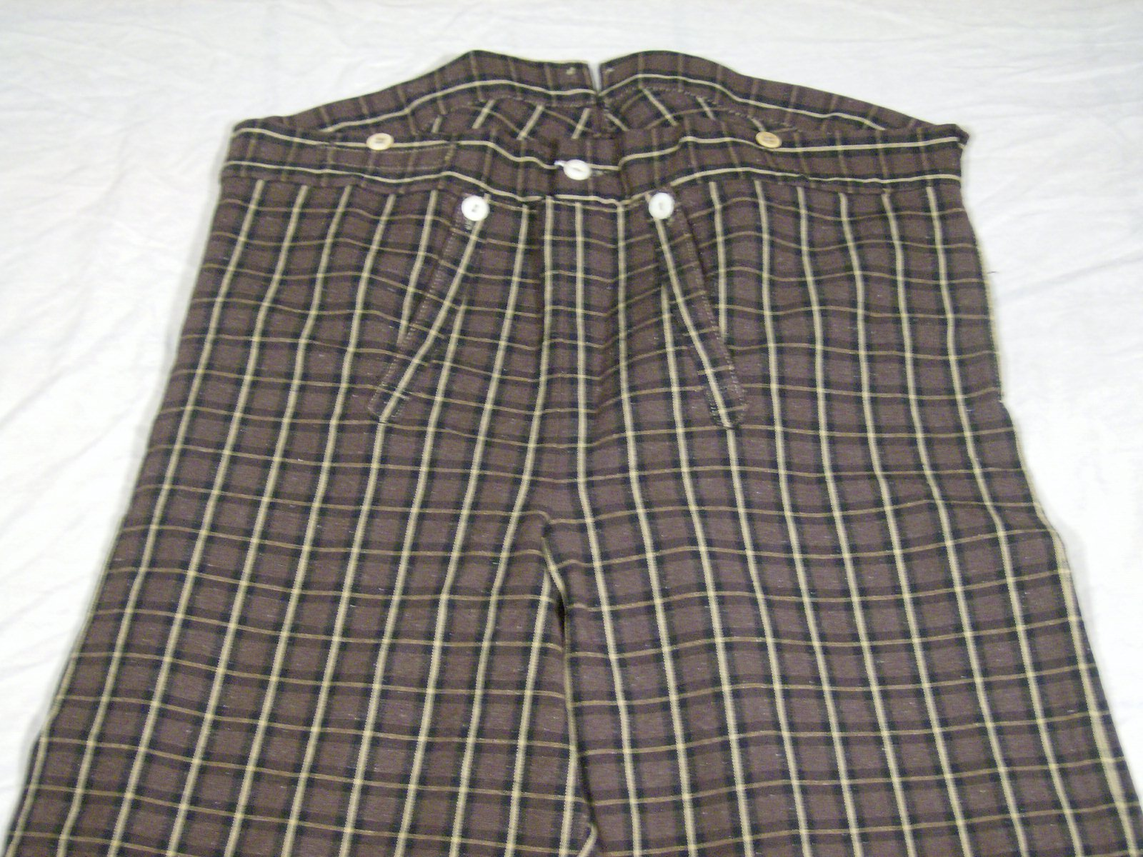 Narrow Fall Trousers
