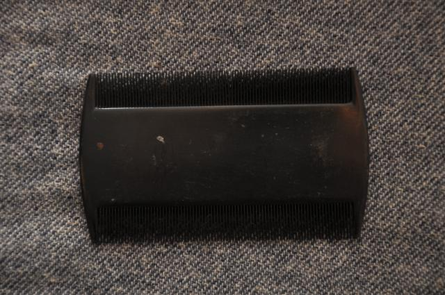 Hard Rubber Comb